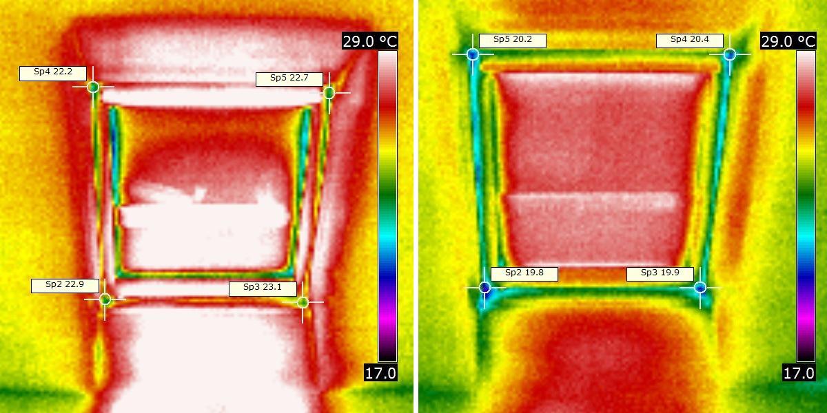 termovizní snímek